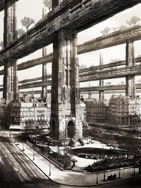 H.Ferriss Paris visit_by_Francisco Villeda